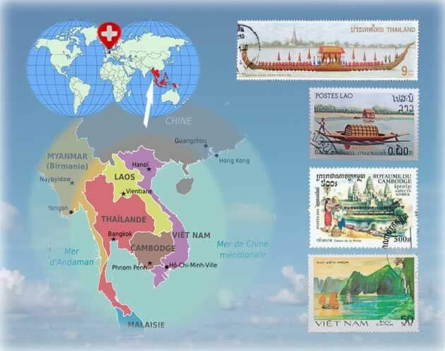 Découvrez les pays de l'Asie du Sud-Est, le Laos, le Cambodge, le Vietnam et la Thaïlande et les créations d'artisanat de Frangipanier confectionnées avec soin par les artisans des villages.