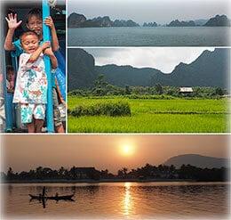 Galeries d'images des pays du coeur de l'Asie du Sud-Est. Proposées par Frangipanier, votre boutique-mobile de créations d'artisanat fabriquées de façons authentique et équitable au coeur de l'Asie du Sud-Est.