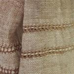 Echarpe en coton filée et tissée à la main par les artisanes des villages du Laos - teinture naturelle, artisanat équitable - code 201214 f2c