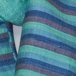 Echarpe en soie naturelle filée et tissée à la main par les artisanes des villages du Laos - artisanat authentique et équitable - code 201225-f3