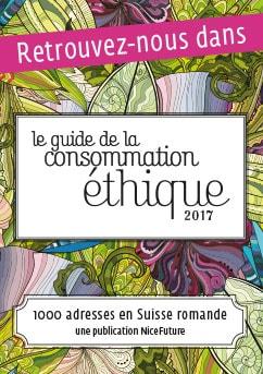 Frangipanier dans le Guide de la consommation éthique en Suisse romande 2017