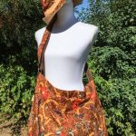 Sac en coton batik aux motifs ethniques, cadeau équitable fait à la main par des artisanes en Thaïlande - 14
