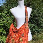 Sac en coton batik aux motifs ethniques, cadeau équitable fait à la main par des artisanes en Thaïlande - 15