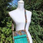 Sac en coton batik aux motifs ethniques, cadeau équitable fait à la main par des artisanes en Thaïlande - 4