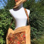Sac en coton batik aux motifs ethniques, cadeau équitable fait à la main par des artisanes en Thaïlande - 8