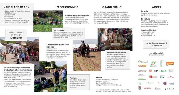 Bio-Agri Foire Agricole Suisse Bio Moudon flyer2 2018-a