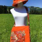Sac et chapeau en coton batik aux motifs ethniques, cadeau équitable confectionné à la main par des artisanes en Thaïlande - 19
