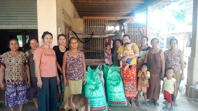 Du riz pour les habitants de Savannakhet au Laos - Frangipanier commerce équitable 1