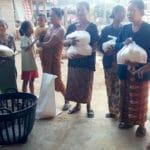 Du riz pour les habitants de Savannakhet au Laos - Frangipanier commerce équitable 2