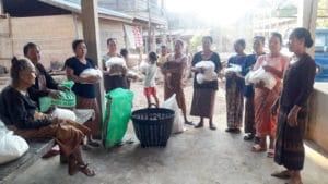 Du riz pour les habitants de Savannakhet au Laos - Frangipanier commerce équitable 3
