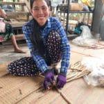 Voyage à la rencontre des artisans au Laos et au Cambode - Frangipanier artisanat équitable 3