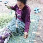 Frangipanier visite village du bambou au Laos - artisanat équitable et authentique - 12