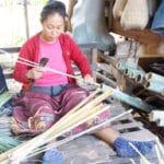 Frangipanier visite village du bambou au Laos - artisanat équitable et authentique - 13