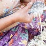 Frangipanier visite village du bambou au Laos - artisanat équitable et authentique - 16