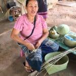 Frangipanier visite village du bambou au Laos - artisanat équitable et authentique - 2