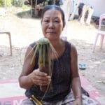 Frangipanier visite village du bambou au Laos - artisanat équitable et authentique - 20
