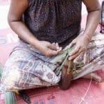 Frangipanier visite village du bambou au Laos - artisanat équitable et authentique - 22
