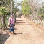 Frangipanier visite village du bambou au Laos - artisanat équitable et authentique - 23