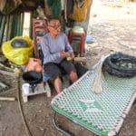 Frangipanier visite village du bambou au Laos - artisanat équitable et authentique - 3