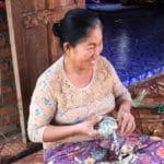 Frangipanier visite village du bambou au Laos - artisanat équitable et authentique - 4b