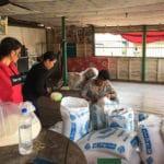 Frangipanier distribution de riz au Cambodge et au Laos pour les artisans des villages - 12