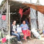 Frangipanier distribution de riz au Cambodge et au Laos pour les artisans des villages - 15