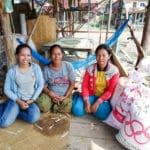 Frangipanier distribution de riz au Cambodge et au Laos pour les artisans des villages - 16