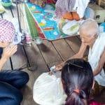 Frangipanier distribution de riz au Cambodge et au Laos pour les artisans des villages - 2