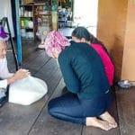 Frangipanier distribution de riz au Cambodge et au Laos pour les artisans des villages - 4