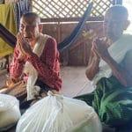 Frangipanier distribution de riz au Cambodge et au Laos pour les artisans des villages - 5