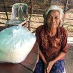 Frangipanier distribution de riz au Cambodge et au Laos pour les artisans des villages - 9