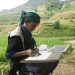 Frangipanier reportage sur la technique du batik chez les H'mong au Vietnam - 18