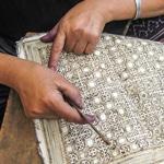 Frangipanier reportage sur la technique du batik chez les H'mong au Vietnam - 21b