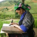 Frangipanier reportage sur la technique du batik chez les H'mong au Vietnam - 22