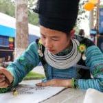 Frangipanier reportage sur la technique du batik chez les H'mong au Vietnam - 27