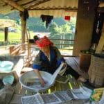 Frangipanier reportage sur la technique du batik chez les H'mong au Vietnam - 32