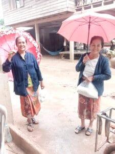 Frangipanier donation riz Laos suite aux inondations automne 2020-11