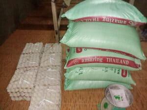 Frangipanier donation riz Laos suite aux inondations automne 2020-7